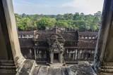 Upper Terrace at Angkor Wat Reprodukcja zdjęcia autor Michael Nolan