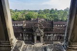 Upper Terrace at Angkor Wat Photographic Print by Michael Nolan