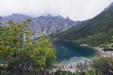Lake Morskie Oko (Eye of the Sea), Zakopane, Carpathian Mountains, Poland, Europe Photographic Print by Christian Kober