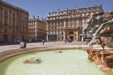 Fontaine Bartholdi in Place Des Terreaux, Lyon, Rhone, Rhone-Alpes, France, Europe Photographic Print by Julian Elliott