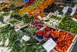 Fruits and Vegetables at Papiniano Market, Milan, Lombardy, Italy, Europe Photographic Print by Yadid Levy