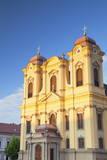 Roman Catholic Cathedral in Piata Unirii, Timisoara, Banat, Romania, Europe Photographic Print by Ian Trower