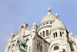 Basilica of Sacre Coeur, Montmartre, Paris, Ile De France, France, Europe Photographic Print by Markus Lange