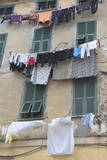 Hanging Laundry, Ventimiglia, Medieval, Old Town, Liguria, Imperia Province, Italy, Europe Photographic Print by Wendy Connett
