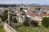 St. Andrews from St. Rules Tower at St. Andrews Cathedral Photographic Print by Mark Sunderland