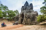 The South Gate at Angkor Thom Photographic Print by Michael Nolan