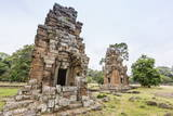 Elephant King Terrace in Angkor Thom Photographic Print by Michael Nolan