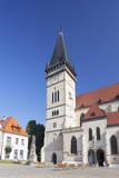 Basilica of St. Egidius in Radnicne Square Photographic Print by Ian Trower