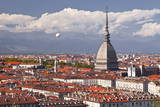 The Rooftops of Turin with the Mole Antonelliana, Turin, Piedmont, Italy, Europe Photographic Print by Julian Elliott