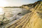 Scala Dei Turchi at Sunset, Realmonte, Agrigento, Sicily, Italy, Mediterranean, Europe Photographic Print by Matthew Williams-Ellis