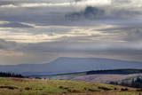 Stormy Sky over Pendle Hill from Above Settle Photographic Print by Mark Sunderland