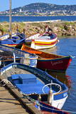 Old Fishing Boats Lámina fotográfica por Guy Thouvenin
