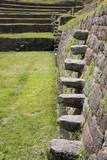 Inca Stepping Stones, Tipon, Peru, South America Photographic Print by Peter Groenendijk