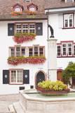 Street Scene in Basel, Switzerland, Europe Photographic Print by Julian Elliott