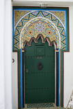 Door in the Medina (Old City), Tangier (Tanger), Morocco, North Africa, Africa Photographic Print by Bruno Morandi