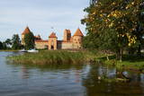 Island Castle of Trakai Near Vilnius, Lithuania, Europe Photographic Print by Bruno Morandi
