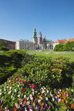 Wawel Hill Castle and Cathedral, UNESCO World Heritage Site, Krakow, Malopolska, Poland, Europe Photographic Print by Christian Kober