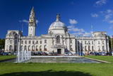 City Hall, Cardiff Civic Centre, Wales, United Kingdom, Europe Photographic Print by Billy Stock