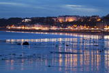 Seafront Illuminations Reflected Photographic Print by Mark Sunderland