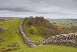 Hadrian's Wall, UNESCO World Heritage Site, Northumberland, England, United Kingdom, Europe Photographic Print by Julian Elliott