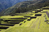 Inca Terracing, Chinchero, Peru, South America Photographic Print by Peter Groenendijk
