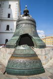Tsar Bell in the Kremlin, UNESCO World Heritage Site, Moscow, Russia, Europe Photographic Print by Michael Runkel