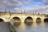 Pont Neuf Bridge on the River Seine, Paris, Ile De France, France, Europe Photographic Print by Markus Lange