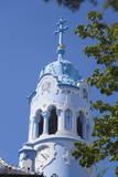 Church of St. Elizabeth (Blue Church), Bratislava, Slovakia, Europe Photographic Print by Ian Trower