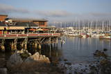 Monterey Docks and Fisherman's Wharf Restaurants Photographic Print by Stuart Black