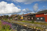 The Old Mining Town of Roros, Sor-Trondelag County, Gauldal District, Norway, Scandinavia, Europe Photographic Print by Douglas Pearson
