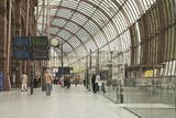 The Railway Station in Strasbourg, Bas-Rhin, Alsace, France, Europe Photographic Print by Julian Elliott