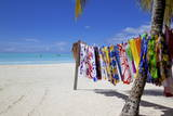 Beach and Vendor's Stall Photographic Print by Frank Fell