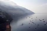 The Port of Positano Fotografisk tryk af Oliviero Olivieri