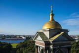 View from St. Isaac's Cathedral with a Golden Cupola, St. Petersburg, Russia, Europe Photographic Print by Michael Runkel