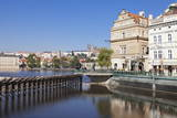 View over the River Vltava to Smetana Museum Photographic Print by Markus Lange