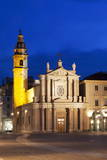 San Carlo Church at Dusk, Turin, Piedmont, Italy, Europe Photographic Print by Mark Sunderland