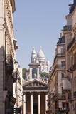 The Basilica of Sacre Coeur Through the Streets of Paris, France, Europe Photographic Print by Julian Elliott