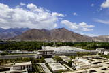View over the Modern Chinese City, Lhasa, Tibet, China, Asia Photographic Print by Simon Montgomery