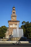 Castello Sforzesco (Sforza Castle), Milan, Lombardy, Italy, Europe Photographic Print by Yadid Levy