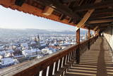 High Angle View from the Castle of the Old Town of Esslingen in Winter Photographic Print by Markus Lange