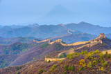 Gubeikou to Jinshanling Section of the Great Wall of China Fotoprint van Alan Copson