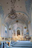 Interior of Church of St. Elizabeth (Blue Church), Bratislava, Slovakia, Europe Photographic Print by Ian Trower