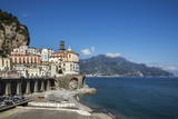 Atrani, Amalfi Peninsula, Amalfi Coast, UNESCO World Heritage Site, Campania Photographic Print by Angelo Cavalli