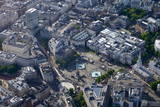 Aerial View of Trafalgar Square, London, England, United Kingdom, Europe Photographic Print by Peter Barritt