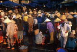 The Market, Hoi Han (Hoi An), Vietnam, Indochina, Southeast Asia, Asia Photographic Print by Bruno Morandi