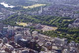 Aerial View of Buckingham Palace, London, England, United Kingdom, Europe Photographic Print by Peter Barritt