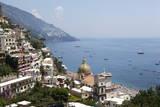 View of Positano Fotografisk tryk af Oliviero Olivieri