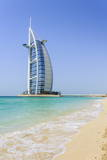 Burj Al Arab Hotel, Jumeirah Beach, Dubai, United Arab Emirates, Middle East Photographic Print by Amanda Hall