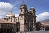 Compania De Jesus Church, Plaza De Armas, Cuzco, Peru, South America Photographic Print by Peter Groenendijk