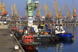 Port of Odessa, Crimea, Ukraine, Europe Photographic Print by Richard Cummins